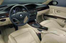 The new BMW 3 series interior