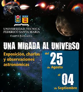 Afiche de 'Una Mirada al Universo'
