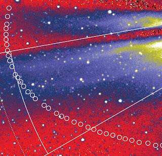 Imagen de la trayectoria de 3200 Phaethon