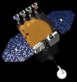 Concepto artístico del observatorio SDO