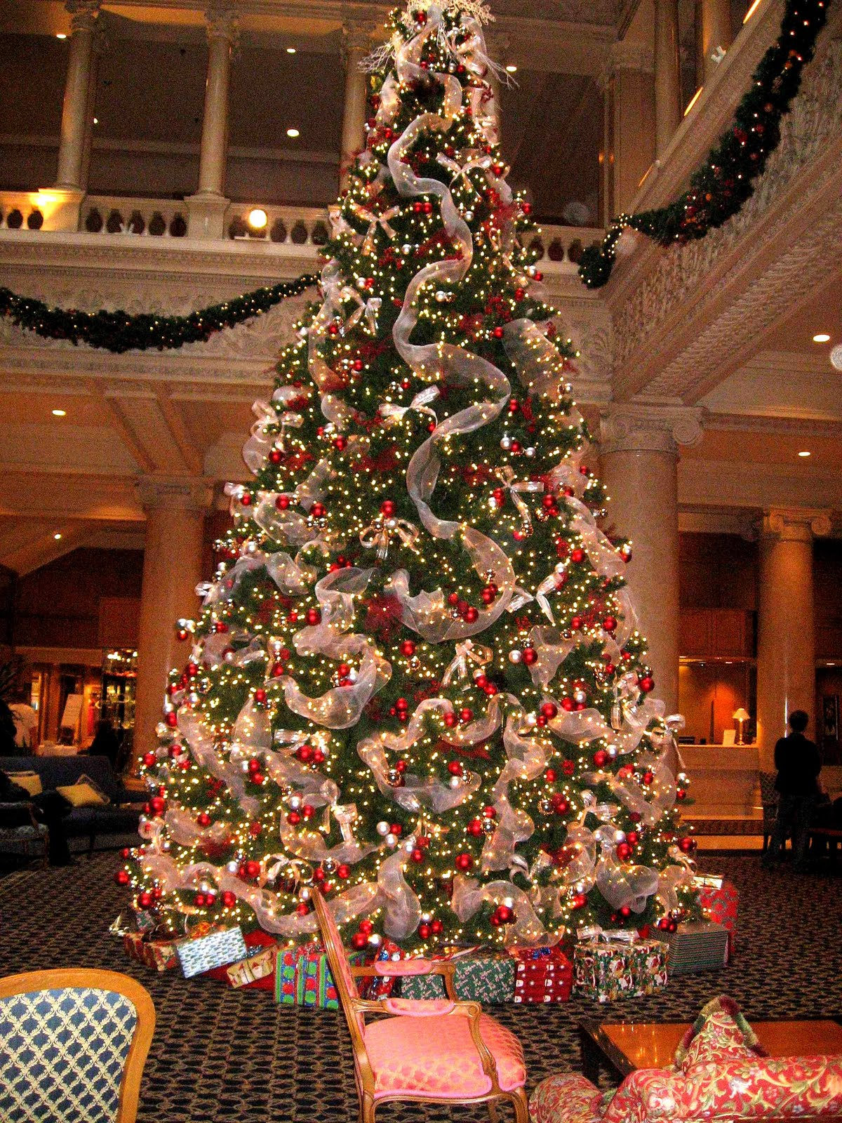 90 best images about lobby christmas trees on pinterest trees peabody hotel memphis and christmas trees - Decorative Christmas Trees