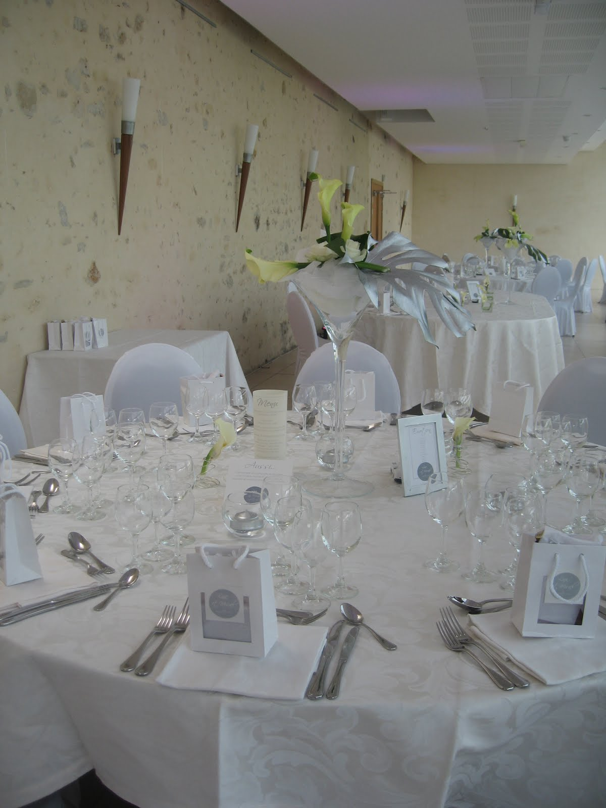 decoration mariage epuree