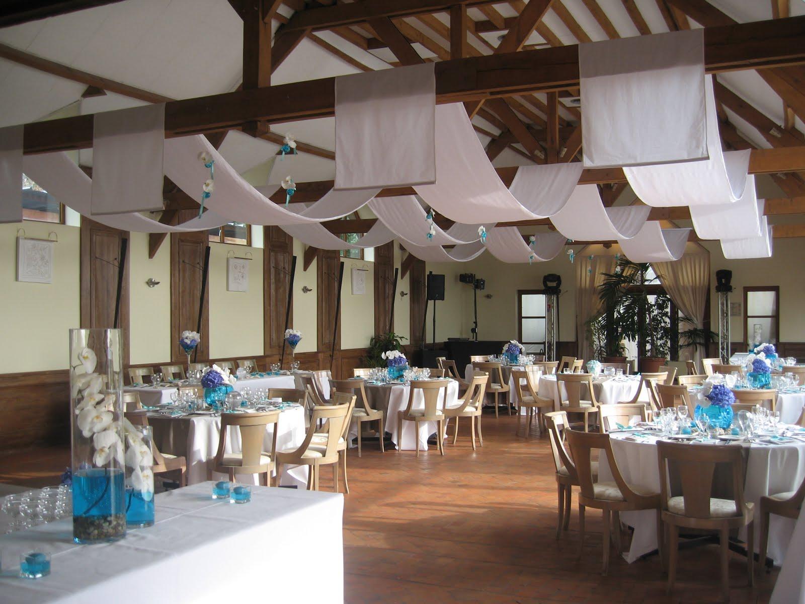 Le secret des receptions c t mer une d coration de - Decoration mer pour mariage decoration mer ...