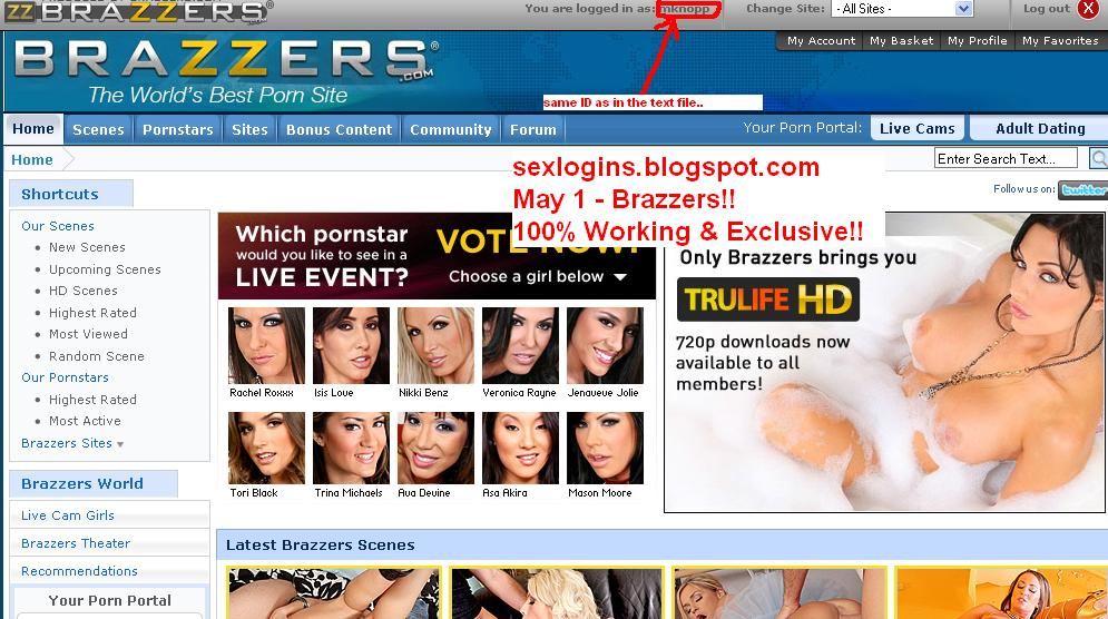 brazzers logins
