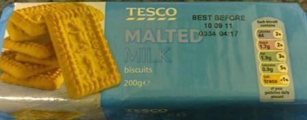 Tesco Dairy Milk Chocolate Biscuit