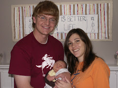 Our Friends Nick and Megan and Baby Thaddues William Koeteman! They like to call him Baby Tad!
