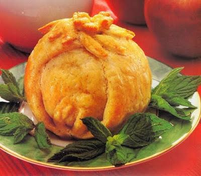 Manzanas Envueltas Hojaldre