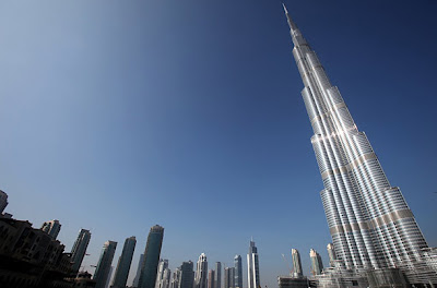 opening photos of Burj Khalifa