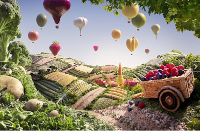 Hot Air Balloons - Foodscapes