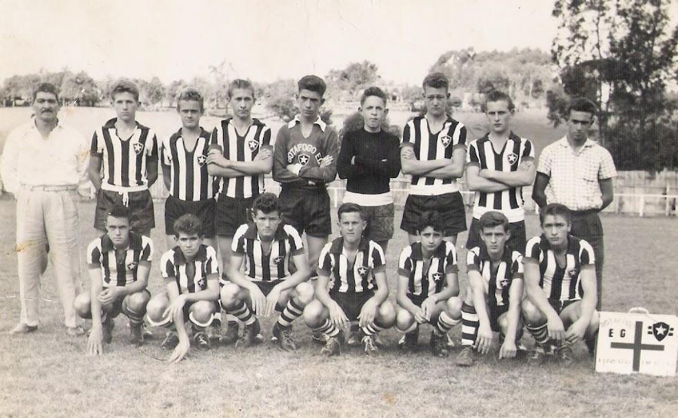 Juvenis do Botafogo década de 60