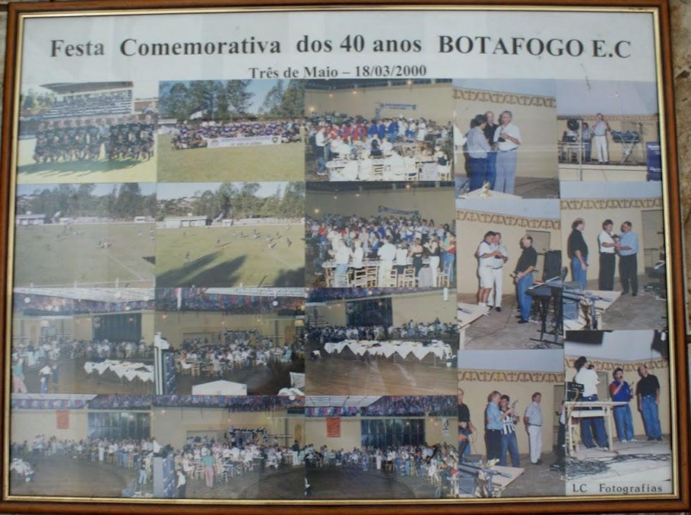 Festa dos 40 anos do Botafogo E.C