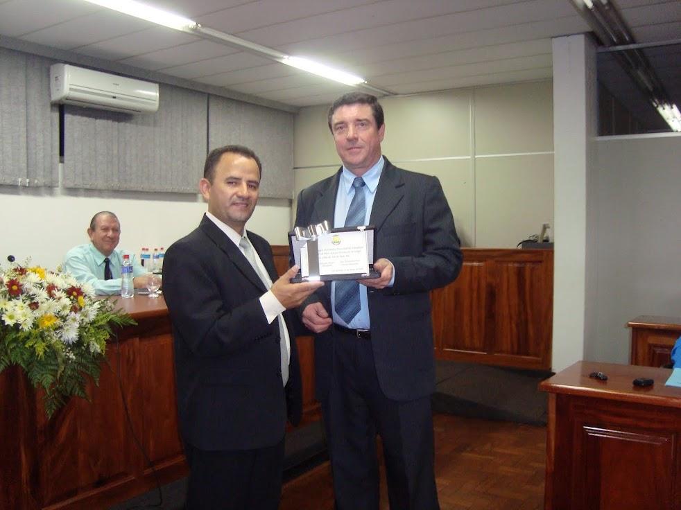 Sessão Solene na Câmara de Vereadores de Três de Maio - 5o anos do Botafogo E.C