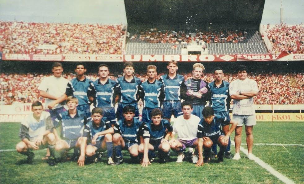 Juvenis da Associação Tresmaiense de Esportes-1993-Entre as 5 melhores do Estado