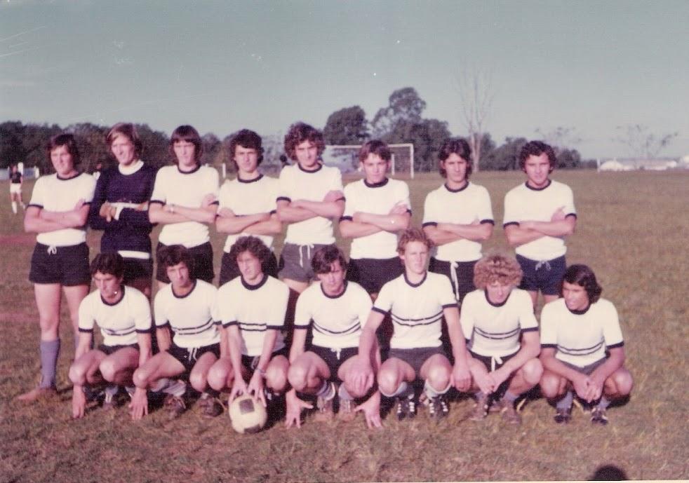 Escolinha do Boatafogo - Jogo em Cruz Alta - 1975