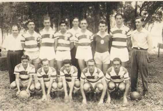 Equipe do Oriental F.C em 1958