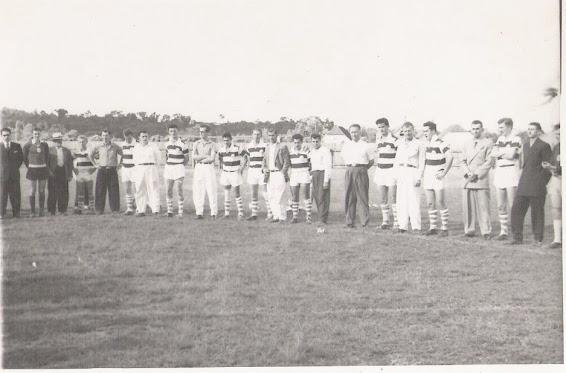 Inauguração de camisetas do Oriental em 1959