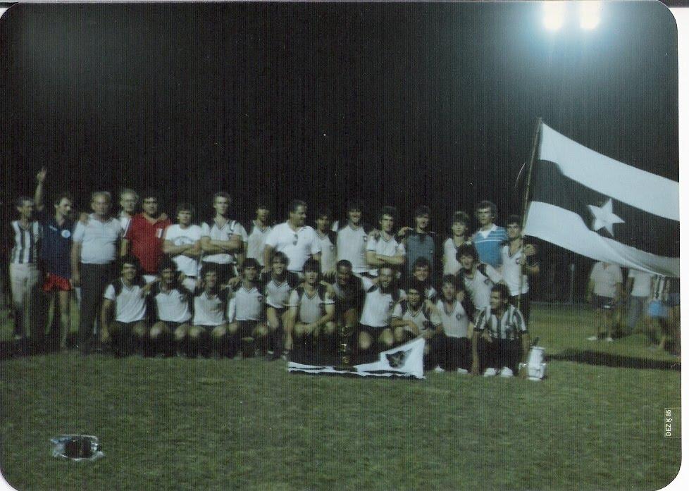 Delegação em Ivoti em 1985