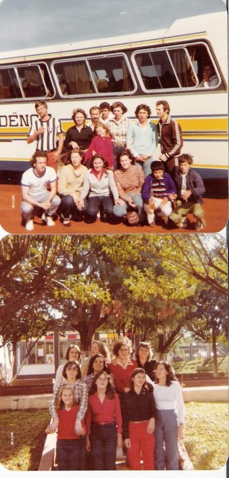 Torcida do Botafogo na conquista do tri em 1980