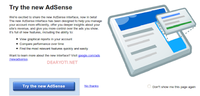 new google adsense