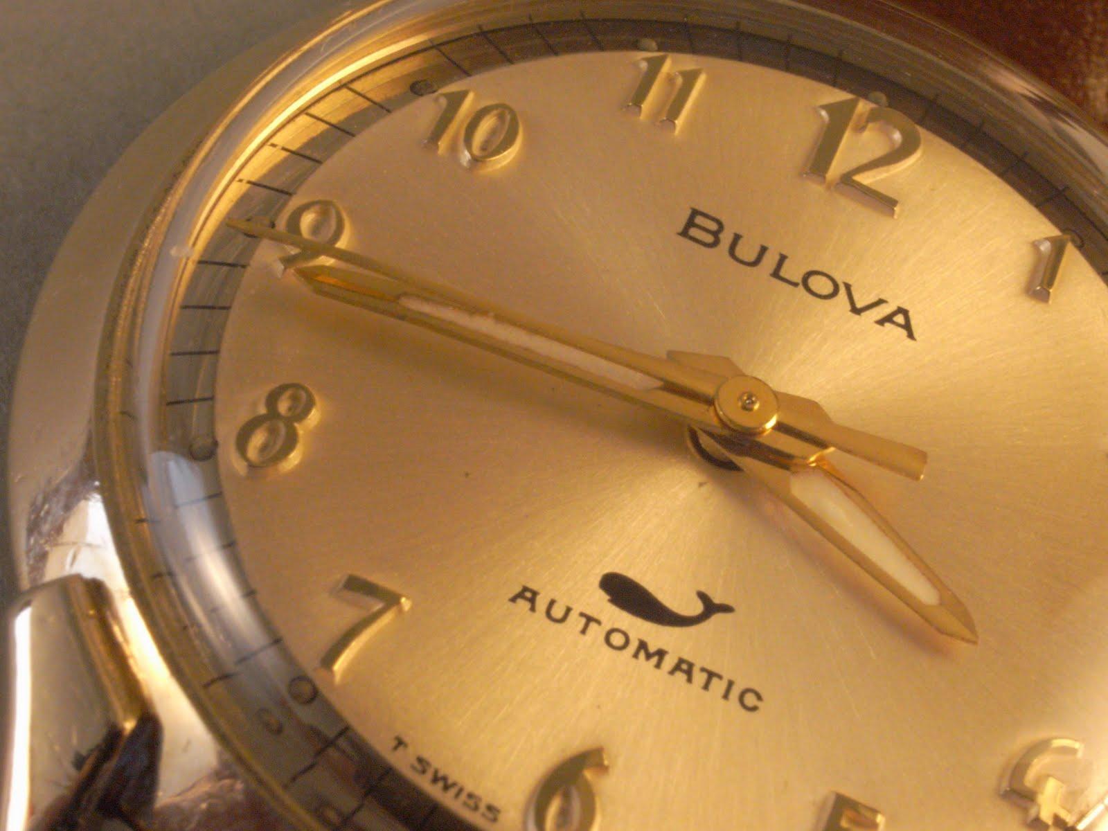 Montre Vintage Bulova 23 or