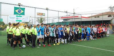 Show de gols na segunda rodada da Copa Cimento Itaú / SindusCon-SP
