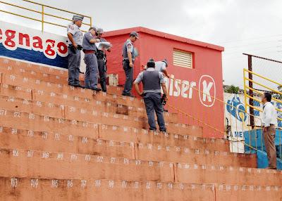 Estádio Fredericão é liberado parcialmente pela PM e Corpo de Bombeiros