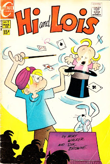 Hi and Lois Charlton Comics issue 9