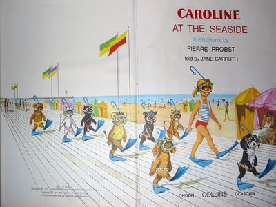 Piere Probst's Caroline At the Seaside