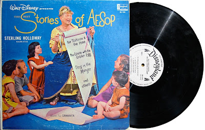 Disneyland Records The Best Stories of Aesop