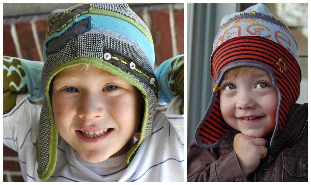 Модная шапка для мальчика своими руками