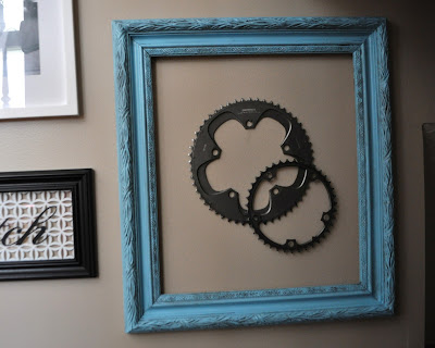 framing found objects