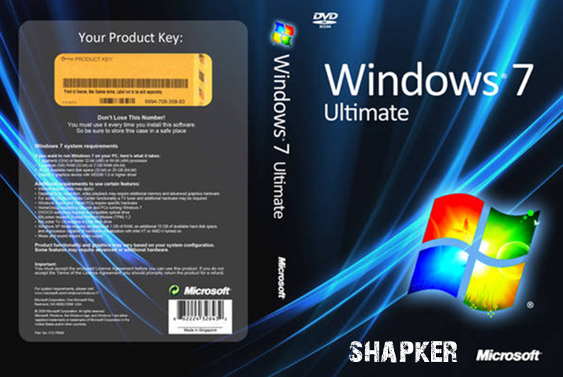 Windows 7 ULTIMATE x86 x64 Completamente activado Version Original Multilenguaje