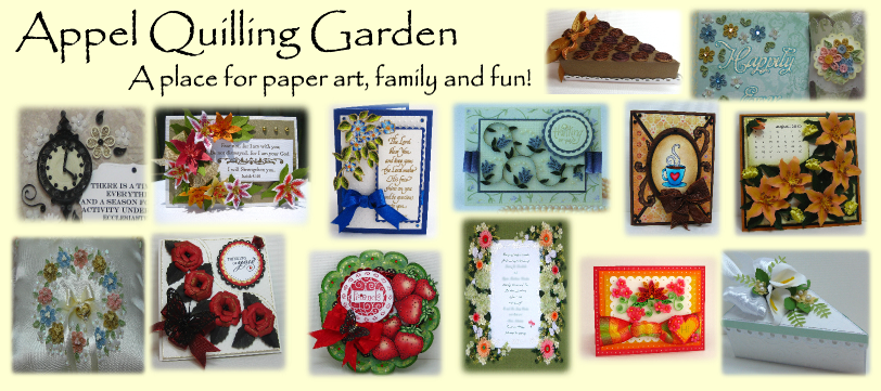 Appel Quilling Garden