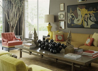Living room la vida loca swoon worthy for Mustard living room ideas