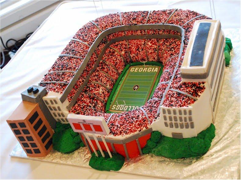 Cup A Dee Cakes Blog Uga Sanford Stadium