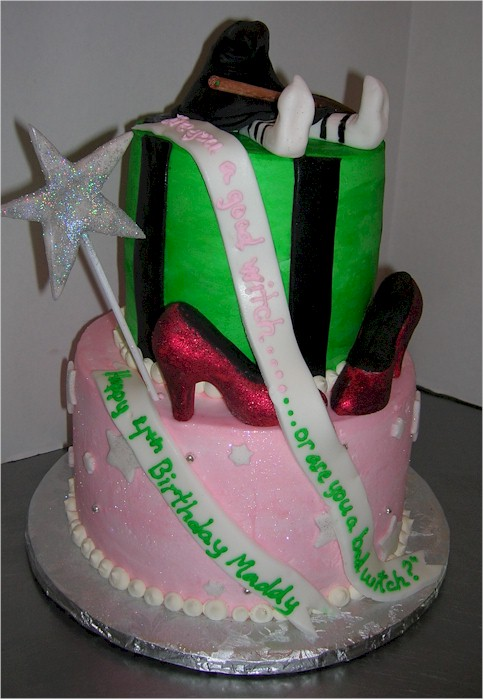 Cup A Dee Cakes Blog Wizard Of Oz Birthday Cake
