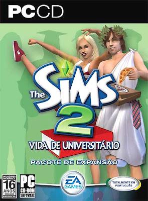 THE SIMS 2 VIDA DE UNIVERSITÁRIO