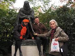 La statuia lui Montaigne, locul de intalnire al sorbonarzilor