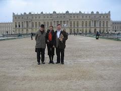 In curtea Versailles-ului