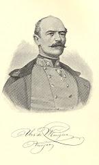 Baronul David Urs de Margine, in uniforma de maior al armatei habsburgice