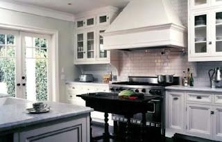 Wordless Wednesday Black And White Kitchen The Green