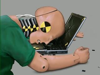 laptop crashed