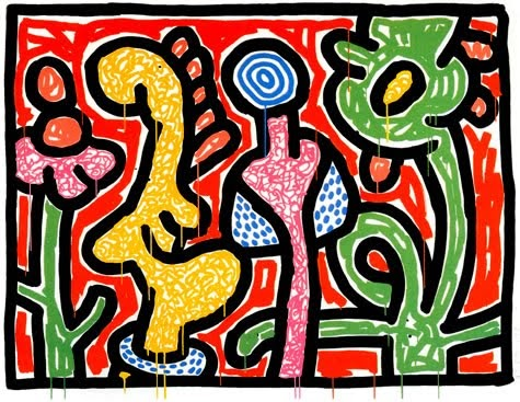 Keith Haring Obras