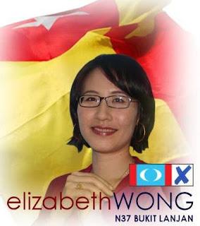Blog Dewan Pemuda PAS Johor: Gambar Bogel Elizabeth Wong