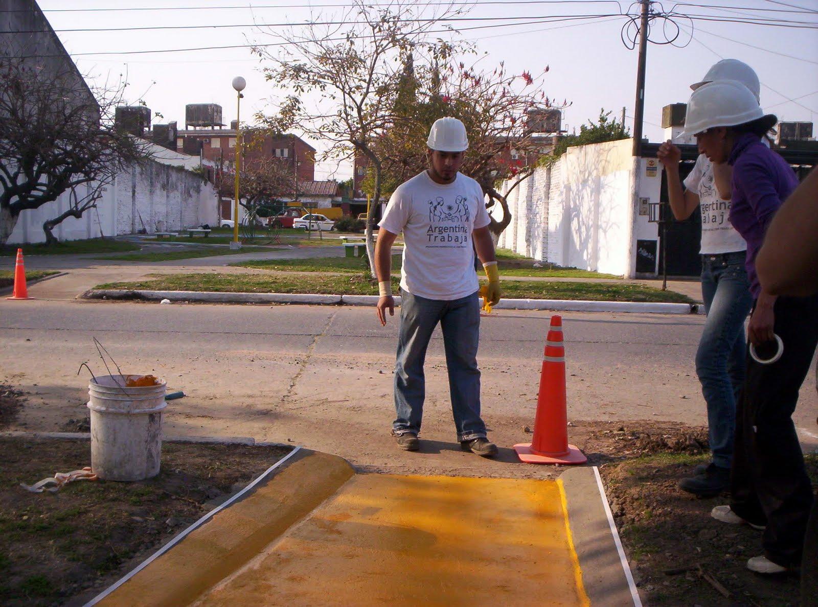 Hugo Cabral Rampas Para Discapacitados En Villa Lujan