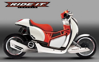 Honda Scoopy i Concept Modding Matic Edition