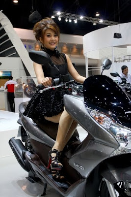 THE BIKER'S: Honda PCX in Motor Expo 2009