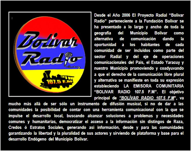 BOLIVAR RADIO 107.5 F.M