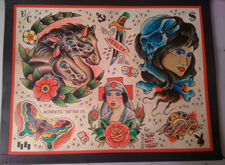 flash sheet to donate to Sailor Jerry Swallow 39s new shop in halifax