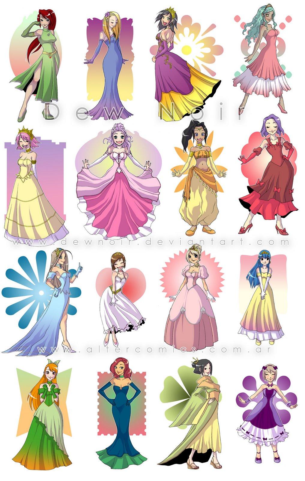 DewNoir: Hadas y Princesas